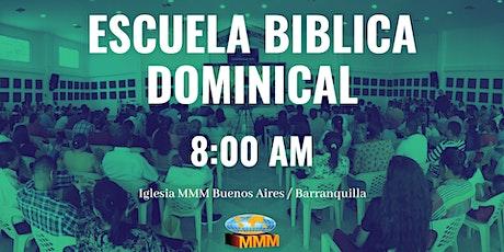 Escuela Biblica Dominical (Reapertura) entradas