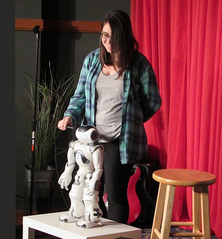 Robot vs. Human Comedy show (Maryland STEM Festival) image