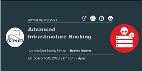 GRAYHAT 2020 | Advanced Infrastructure Hacking tickets