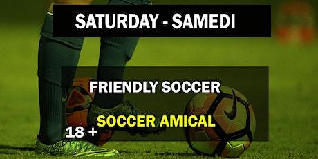 SAMEDI - SATURDAY billets