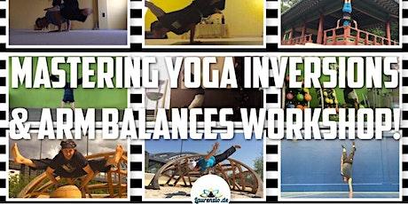 Mastering Arm Balancing Workshop  - Laurenzio Yoga Studio & Online bei Zoom Tickets