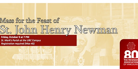 Mass for the Feast of St. John Henry Newman tickets