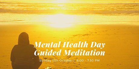 Mental Health Day Guided Meditation West End, Sunday 11th October tickets