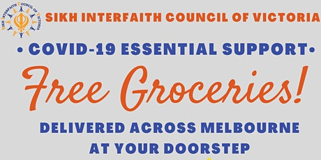FREE GROCERIES- COVID19 ESSENTIAL SUPPORT tickets