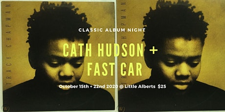 3RD SHOW - Tracy Chapman - Classic Album Night by Cath Hudson + Fast Car tickets