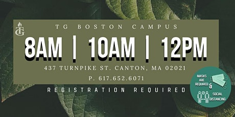 TG BOSTON SUNDAY SERVICES (OCTOBER) tickets