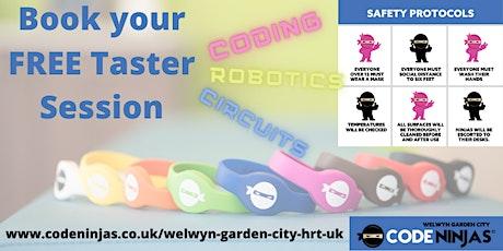 Code Ninjas Welwyn Garden City FREE Taster Sessions tickets