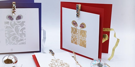 DIY Christmas Cards with BehindCanvas (ONLINE WORKSHOP) tickets