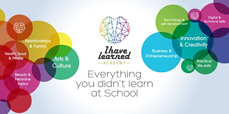 Online Workshops with I Have Learned Academy tickets