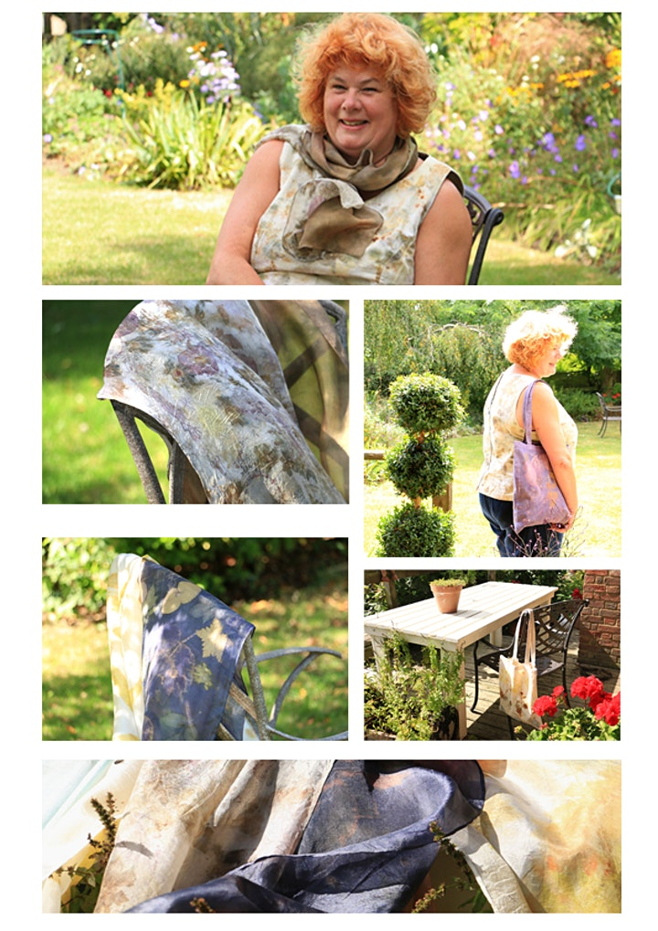 Botanical Printing with Natural Plant Dyes image