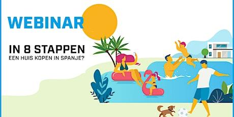 In 8 stappen een huis kopen in Spanje? Koop geen kat in een zak! 21/10/20 tickets