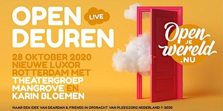 Open Deuren  - live tickets