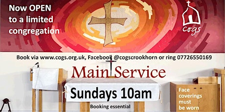 CoGS Sunday Morning Service 4th October 2020 tickets