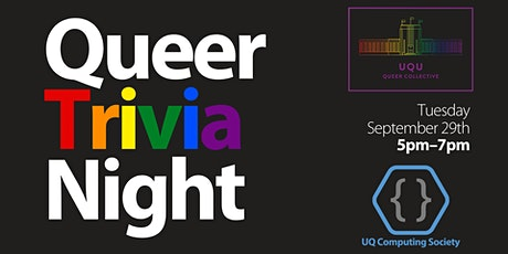 Queer Trivia Night with UQCS & the UQ Queer Collective tickets