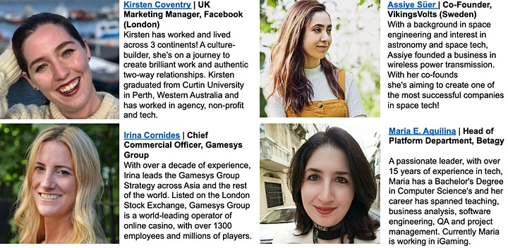 Women in Tech Stories 2020 (Online) image