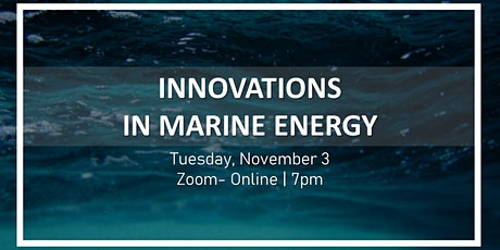 Innovations in Marine Energy tickets