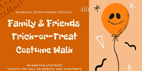 Friends and Family Costume Character Walk tickets