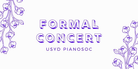 PianoSoc Formal Concert S2, 2020 tickets