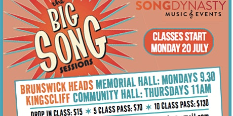 Big Song Membership and Class Fees Term 4 Kingscliff tickets