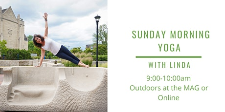 Outdoor Sunday Morning Yoga at the Memorial Art Gallery with Linda tickets