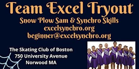 Team Excel Snowplow Sam & Synchro Skills Tryout tickets
