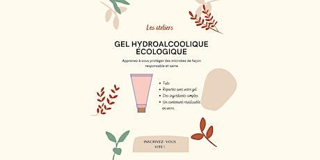 Atelier : Faire son gel hydroalcoolique naturel maison billets