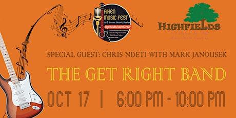 Aiken Music Fest Present: The Get Right Band tickets