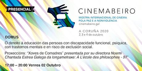 CINEMABEIRO 1ª SESIÓN 2/10/2020 entradas