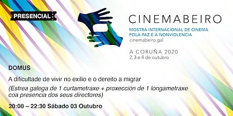 CINEMABEIRO 2ª SESIÓN 3/10/2020 entradas