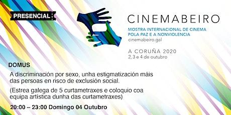 CINEMABEIRO 2ª SESIÓN 4/10/2020 entradas