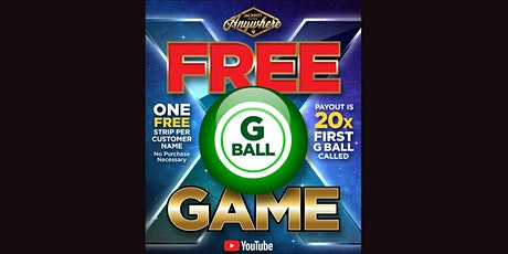 """G"" Ball Game - FREE GAME - October 12, 2020 tickets"