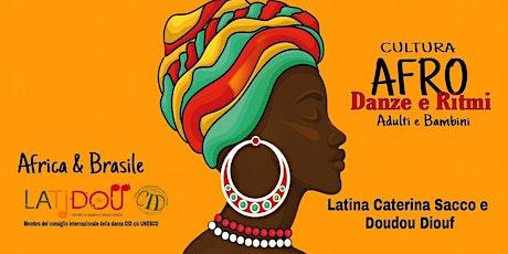 Afro Week Open - Lezioni prova danza e musica Scuola Latidou biglietti