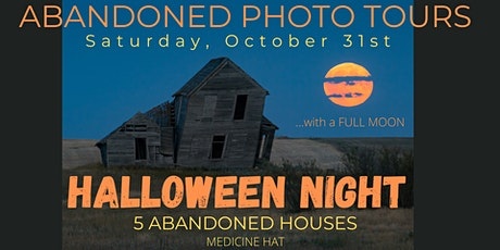Abandoned Photo Tours:  Halloween Night tickets
