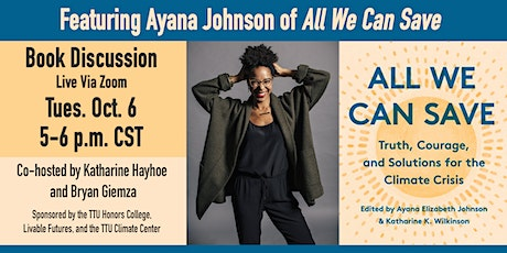 Book Discussion featuring Ayana Johnson tickets