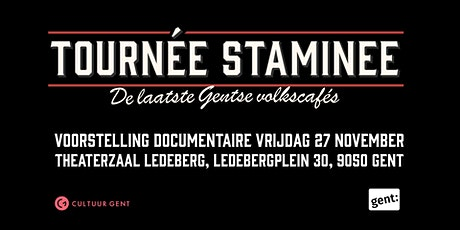 Tournée Staminee - voorstelling documentaire - Week van het Gents tickets