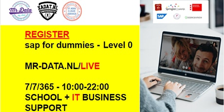 XADAT.NL SAP for dummies ONLINE - what is sap the absolute beginners guide tickets