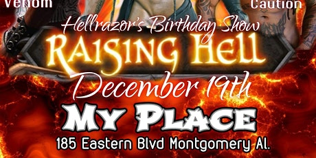 Raising Hell... Hellrazor Birthday Celebration tickets
