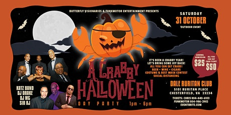 Crabby Halloween Day Party tickets