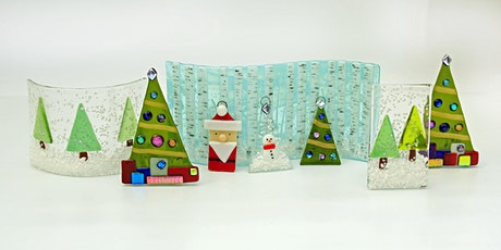 Christmas Decorations Fused Glass Workshop tickets