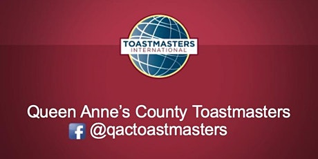 Queen Anne's County Toastmasters Online Meeting - 2020 tickets