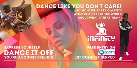 Dance It Off - Express Yourself At Our Virtual Zoom Party! tickets