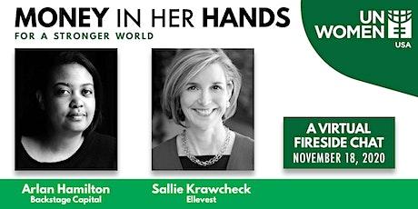 Money in Her Hands: Conversation with Sallie Krawcheck & Arlan Hamilton tickets