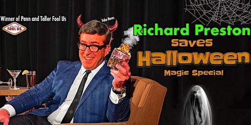 Richard Preston Saves Halloween Zoom Magic Special
