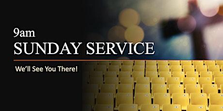 9am Sunday Service - 11th October tickets