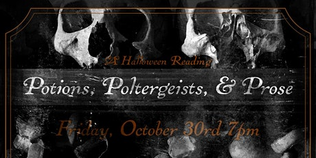 Potions, Poltergeists, & Prose: A Halloween Reading (Online) tickets