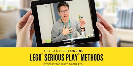 Reconnecting: Certificação Online em LEGO® SERIOUS PLAY® Times & Grupos tickets