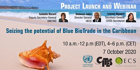 "Project launch and webinar ""Blue BioTrade in the Caribbean"" tickets"