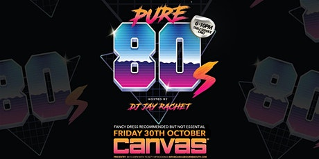 Pure 80's w/ DJ Jay Rachet tickets