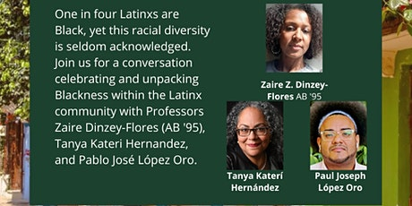 Race and Blackness in the Latinx Community: Unpacking AfroLatinidad tickets