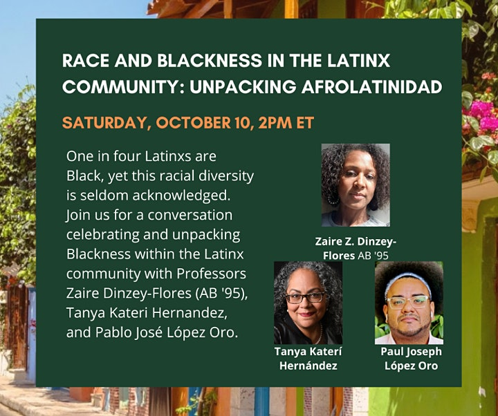 Race and Blackness in the Latinx Community: Unpacking AfroLatinidad image